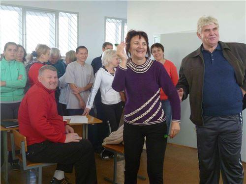 Спартакиада учителей района.