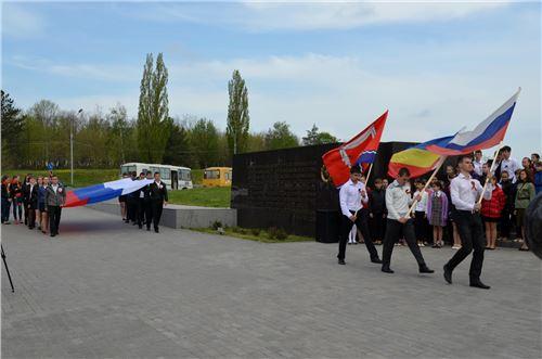 Митинг и трудовой десант у мемориала: «Самбекские высоты».