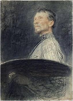 А.Е.Архипов.Автопортрет.