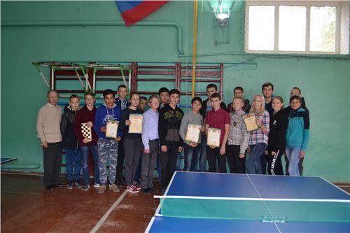 Зональные соревнования по шахматам и теннису.