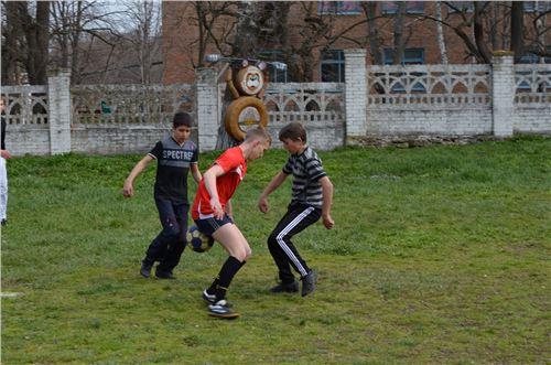 Зональные соревнования по мини футболу.
