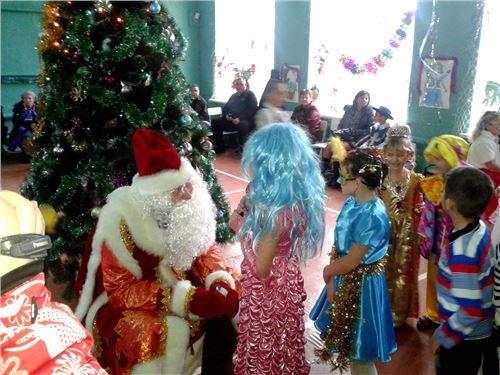 Новогоднее представление для учащихся 1-6 классов.
